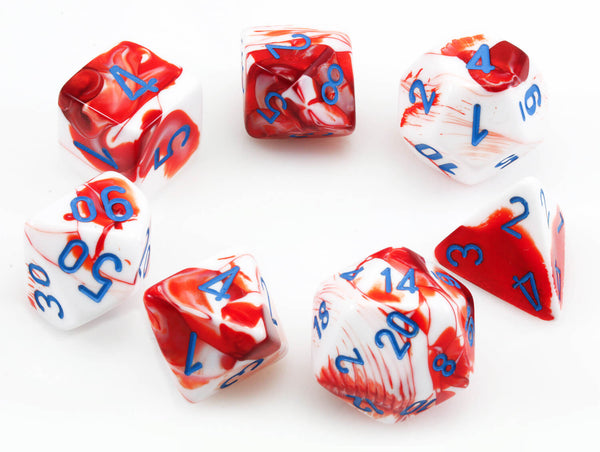 Chessex Lab Dice III Red
