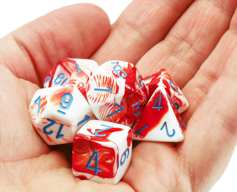 Chessex Lab Dice III Red 3