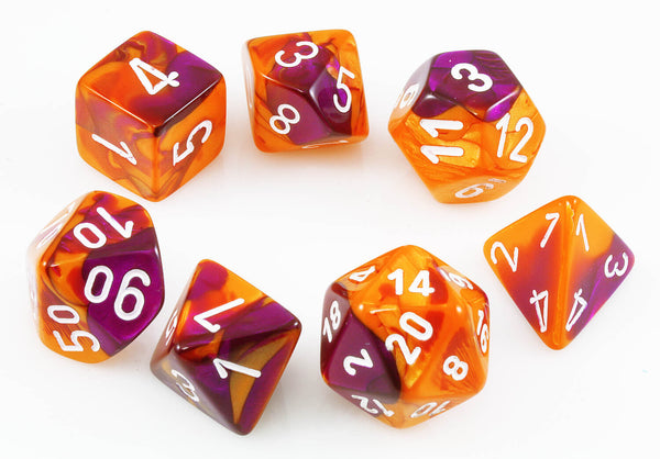 Chessex Lab Dice III Orange