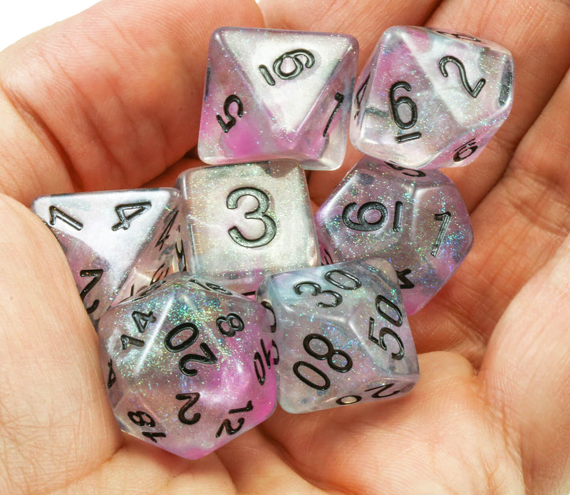 Beautiful rpg dice