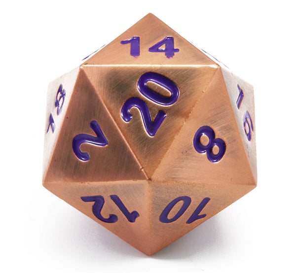 Mystic Copper Giant d20