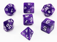 Purple Dungeons and Dragons Dice