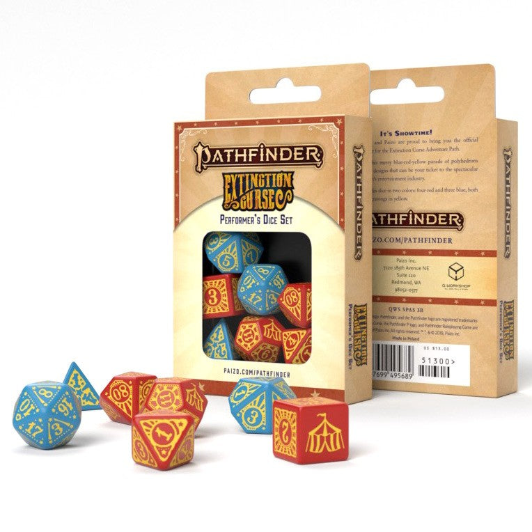 Pathfinder Dice 2 Extinction Curse Performers