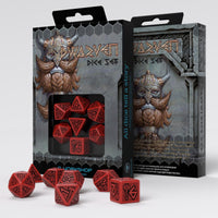 Q-workshop Dwarven dice red