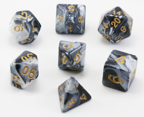 D&D Iron Monk Dice