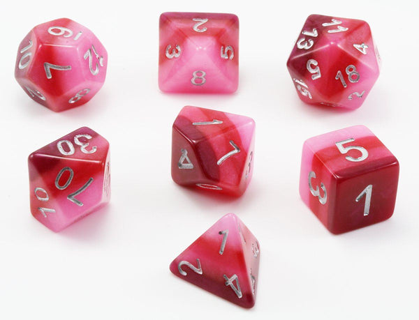 D&D Dice Red