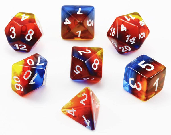 Aurora Dice (Sunrise) | RPG Role Playing Game Dice Set
