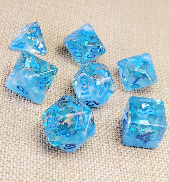 Four Seasons Dice (Summer) | RPG Role Playing Game Dice Set