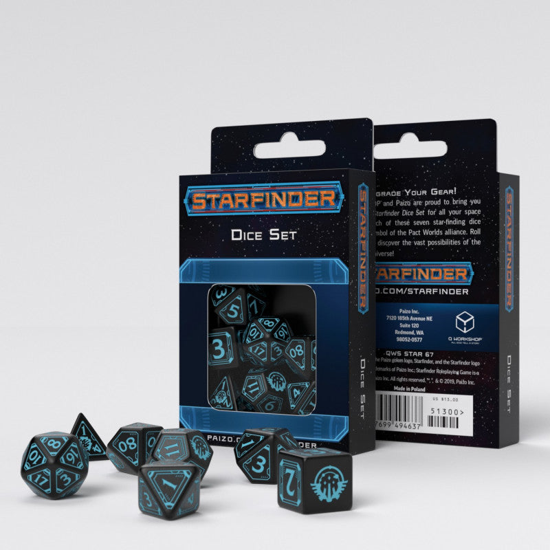 Alliance Starfinder Dice
