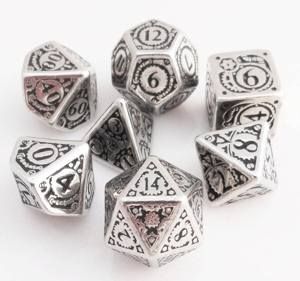 Steampunk Metal Dice