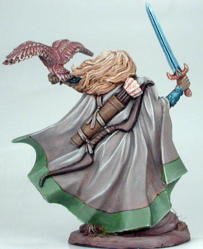 RPG Miniatures Female Ranger