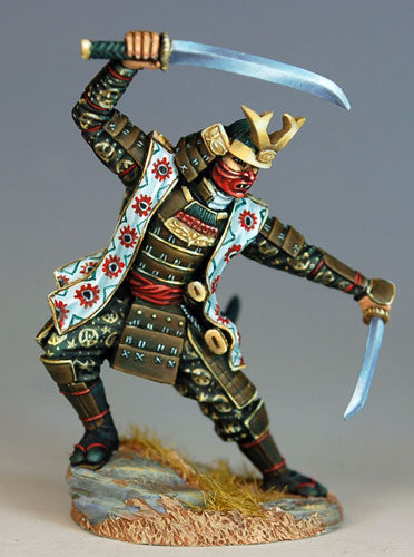 Dark Sword Miniatures Dsm7412 Male Samurai 28mm Dark