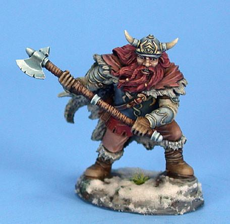 Dark Sword Miniatures Dwarf Fighter