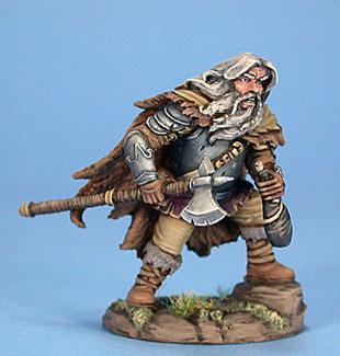 D&D Miniatures Dwarf Fighter