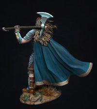 DSM7427 Male Warrior With Battle Axe