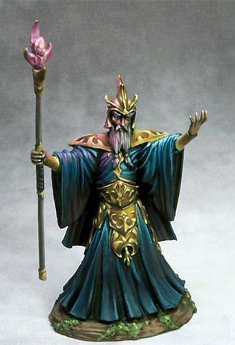 Dark Sword Miniatures Dsm7430 Evil Male Wizard 28mm