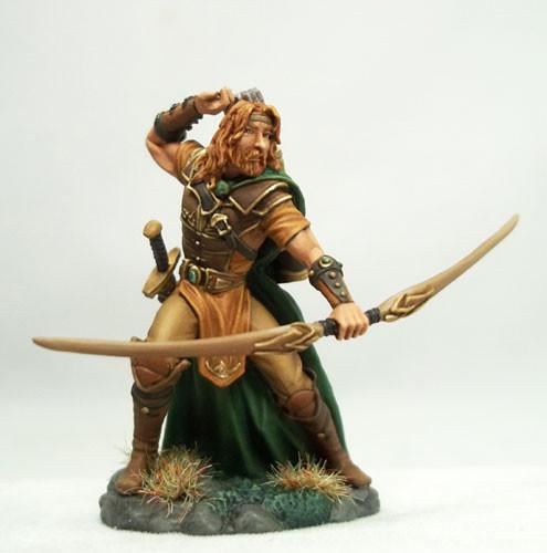 Dark Sword Miniatures DSM7434 Male Ranger With Bow