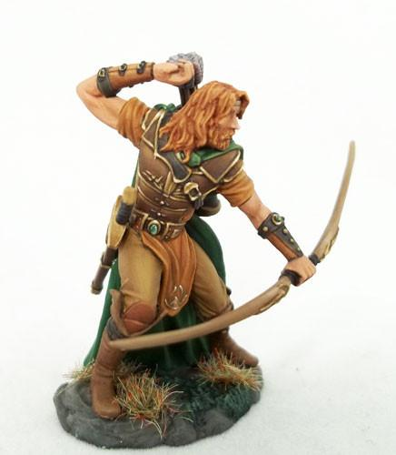 RPG Miniatures Ranger With Bow