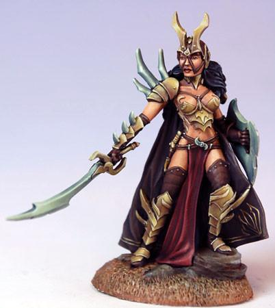 Dark Sword Miniatures DSM7508 Female Anti-Paladin