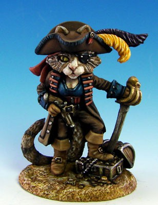 Catfolk Miniature Pirate 1