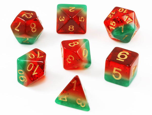 Watermelon DnD dice