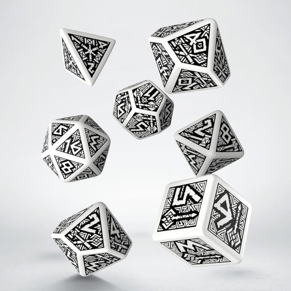Dwarven dice white