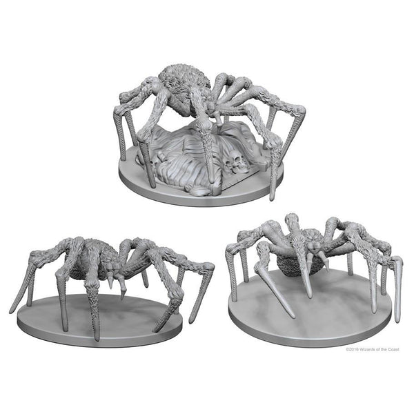 Dungeons & Dragons Miniatures Spiders
