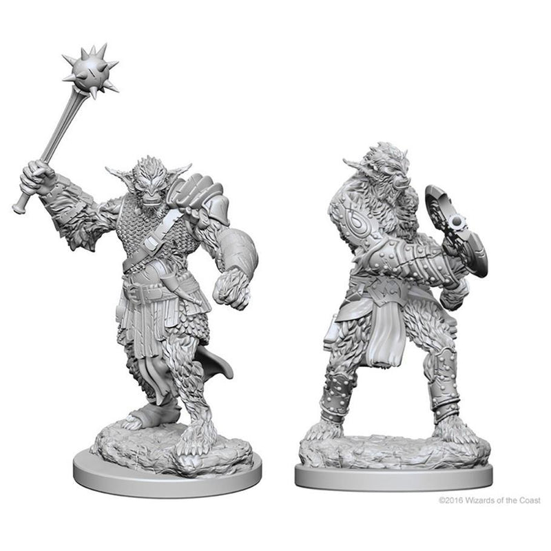 Dungeons & Dragons Miniatures Bugbears