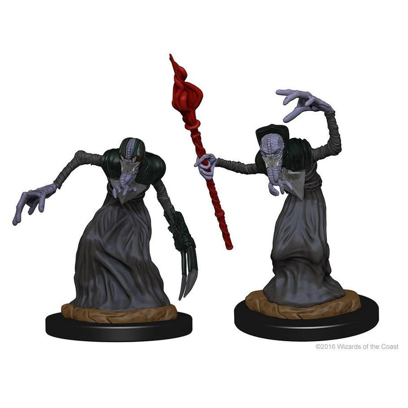 DnD Miniatures Mindflayers WZK72566