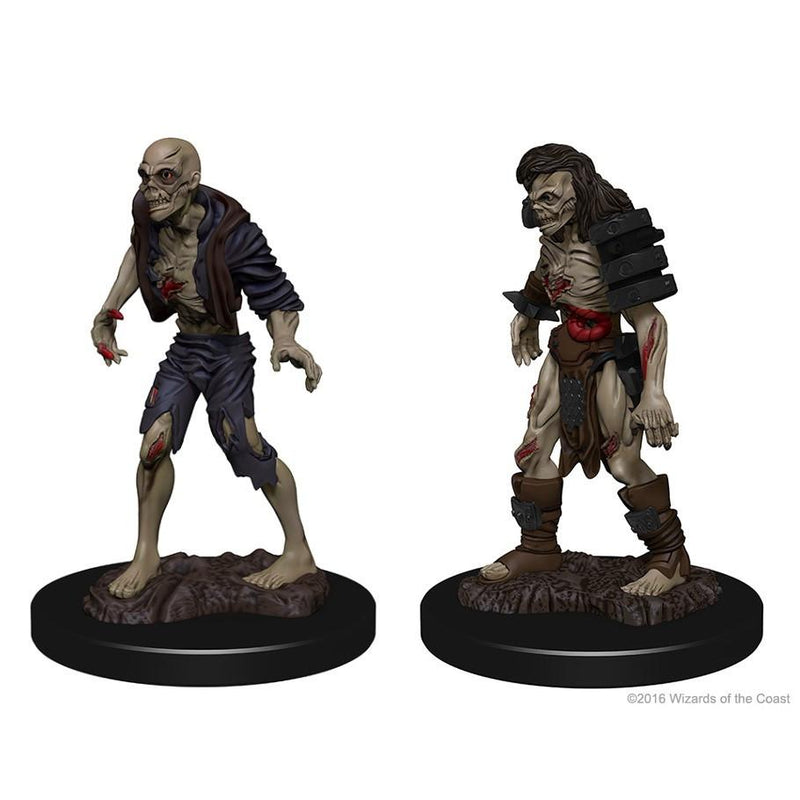 DnD Miniatures Zombies WZK72567