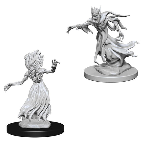 Dungeons & Dragons Miniatures (Wraith And Specter) RPG Minis