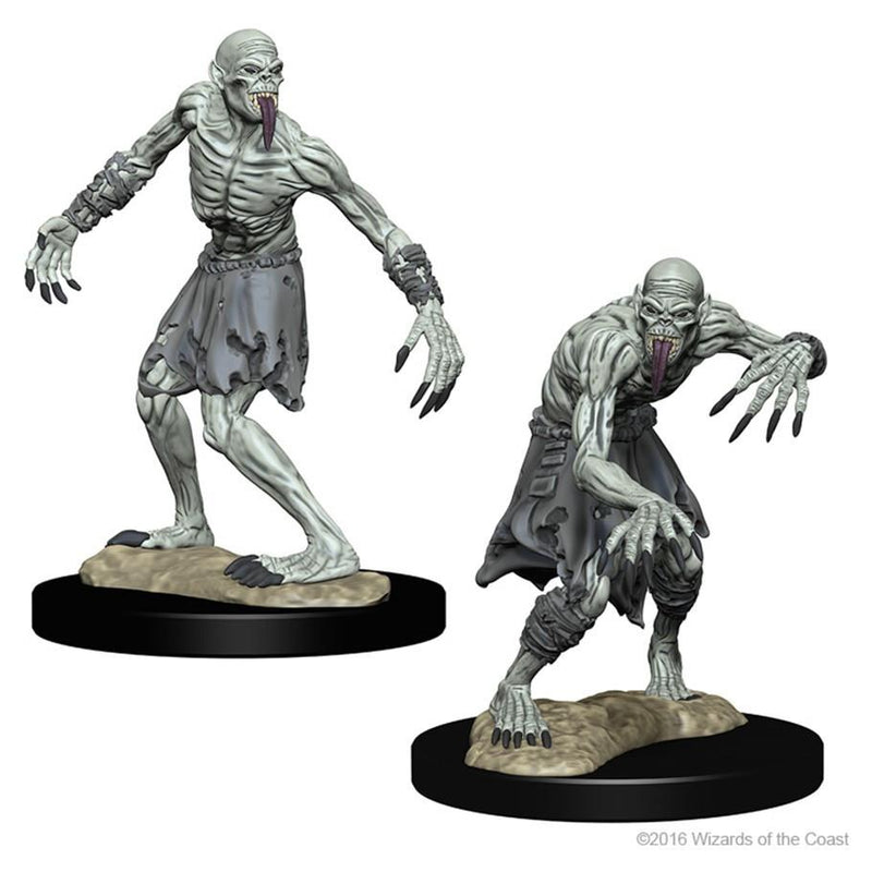 Dungeons & Dragons - Ghouls Miniatures