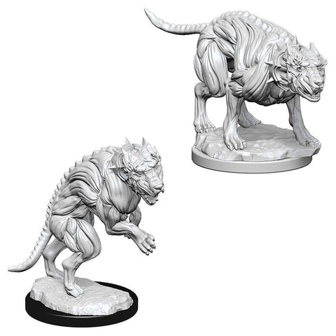 Pathfinder Miniatures Hell Hounds