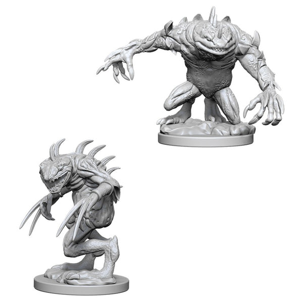 Dungeons & Dragons Miniatures Grey Slaad and Death Slaad