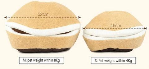 Cat Hamburger House Sizing