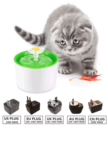 Automatic Pet Flower Drinking Fountain - SAVE 50% TODAY
