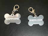 Customized Dog or Cat Tag with Free Engraving