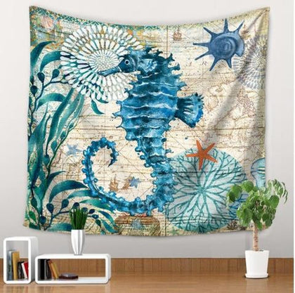 Marine Animals Tapestry