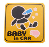 Cute-Baby-In-Car-Vinyl-Car-Stickers-Baby-Sucking-Bottle-Yellow