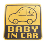 Cute-Baby-In-Car-Vinyl-Car-Stickers-Car-Yellow