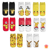 Cute Pikachu Socks
