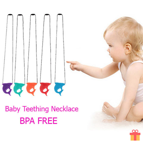 Shark Baby Teething Necklace