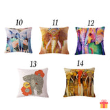Elephant Series Cushion Covers Designs