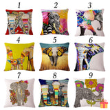 Elephant Series Cushion Covers