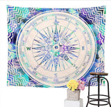 Elephant-Wall-Tapestry-Compass