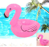 Inflatable Flamingo Drink Can Holder Swan