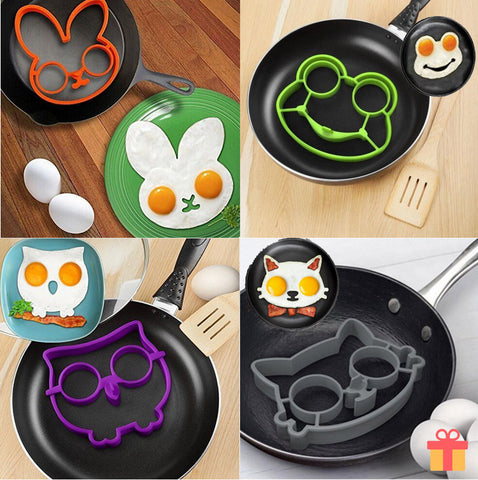 Kitchen Cooking Egg/Pancake Silicone Mould