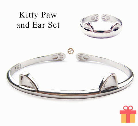 Kitty Paw and Ear Set