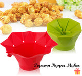 PopTop Microwave Popcorn Popper Maker