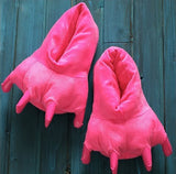Monster Claw Indoor Slippers Pink